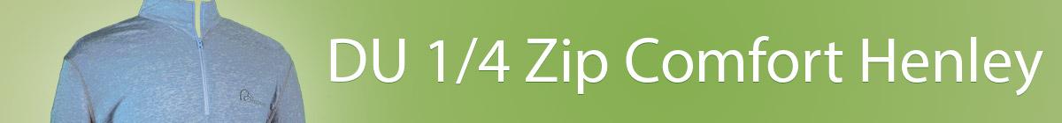 DU 1/4 Zip Comfort Henley
