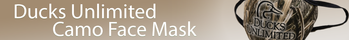 DU Non-Medical Mossy Oak Habitat Camo Face Mask