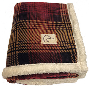 DU Plaid Throw