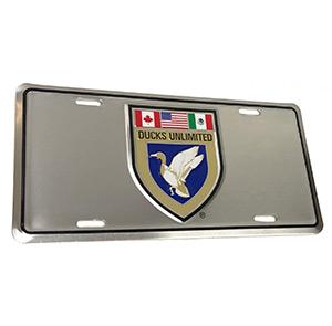 DU Crest License Plate