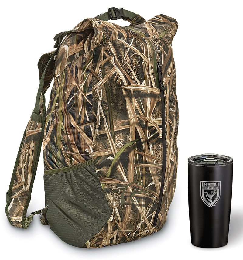 DU Adventurer Waterproof Backpack and Tumbler