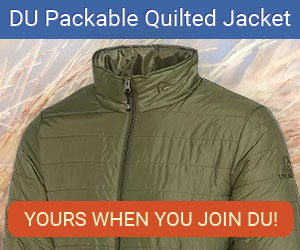 DU Quilted Jacket when you join DU