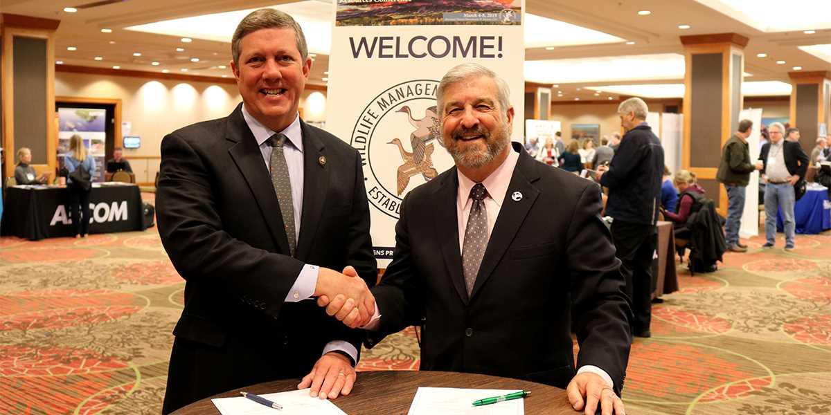 DU, Congressional Sportsmen's Foundation Partnership