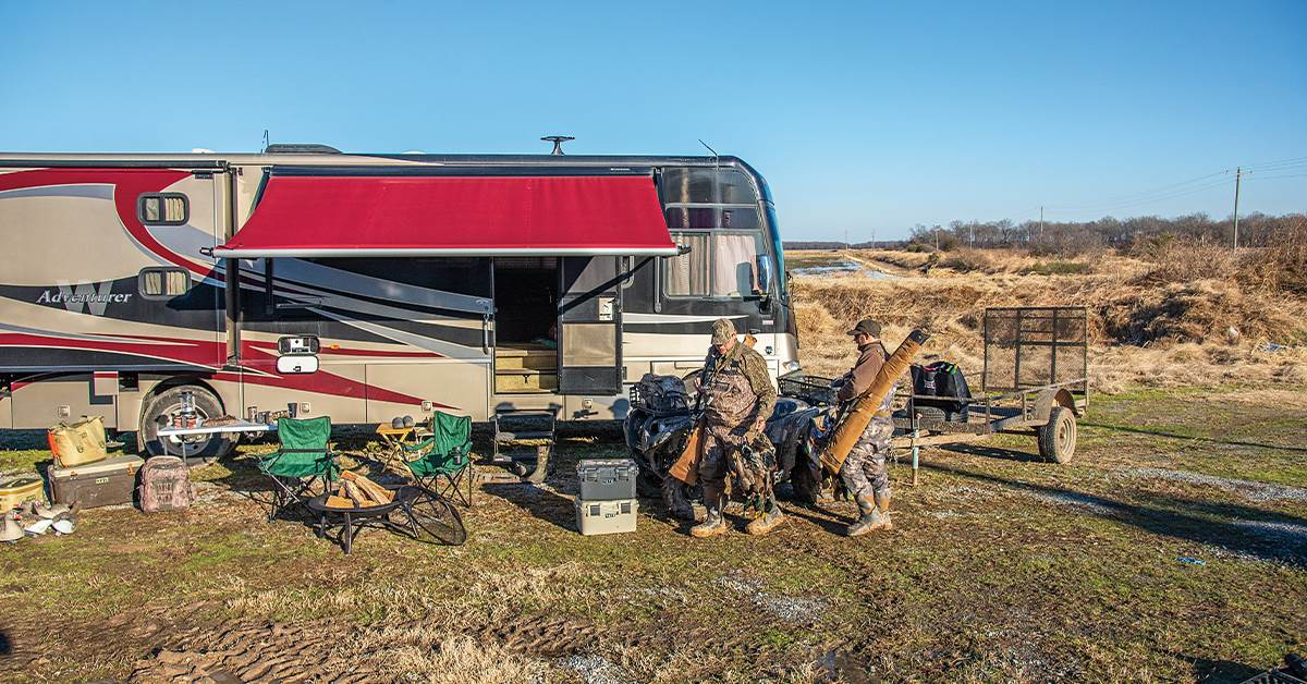 Duck Camp on Wheels